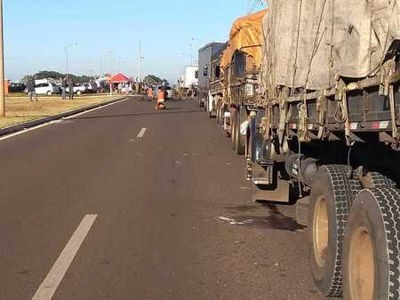 Left or right center caminhoneiros
